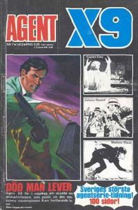 Cover Thumbnail for Agent X9 (Semic, 1971 series) #7/1972