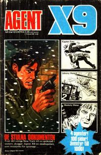 Cover Thumbnail for Agent X9 (Semic, 1971 series) #8/1972