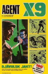 Cover Thumbnail for Agent X9 (Semic, 1971 series) #1/1973