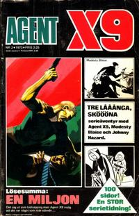 Cover Thumbnail for Agent X9 (Semic, 1971 series) #2/1973
