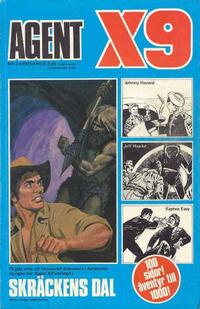 Cover Thumbnail for Agent X9 (Semic, 1971 series) #3/1973