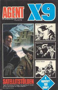 Cover Thumbnail for Agent X9 (Semic, 1971 series) #4/1973