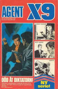 Cover Thumbnail for Agent X9 (Semic, 1971 series) #6/1973
