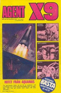 Cover Thumbnail for Agent X9 (Semic, 1971 series) #9/1973