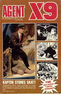 Cover Thumbnail for Agent X9 (Semic, 1971 series) #1/1974