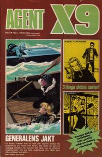 Cover Thumbnail for Agent X9 (Semic, 1971 series) #5/1974