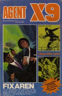 Cover Thumbnail for Agent X9 (Semic, 1971 series) #6/1974