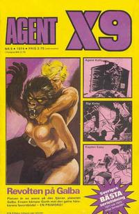 Cover Thumbnail for Agent X9 (Semic, 1971 series) #9/1974