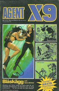 Cover Thumbnail for Agent X9 (Semic, 1971 series) #10/1974
