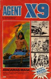 Cover Thumbnail for Agent X9 (Semic, 1971 series) #11/1974
