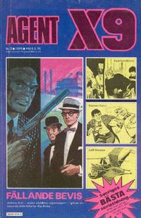 Cover Thumbnail for Agent X9 (Semic, 1971 series) #2/1975