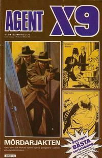 Cover Thumbnail for Agent X9 (Semic, 1971 series) #3/1975
