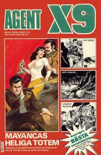 Cover Thumbnail for Agent X9 (Semic, 1971 series) #4/1975