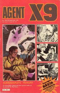 Cover Thumbnail for Agent X9 (Semic, 1971 series) #7/1975