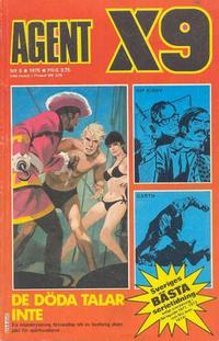 Cover Thumbnail for Agent X9 (Semic, 1971 series) #8/1975
