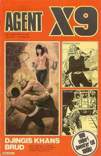 Cover Thumbnail for Agent X9 (Semic, 1971 series) #11/1975