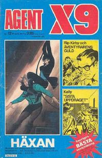 Cover Thumbnail for Agent X9 (Semic, 1971 series) #12/1975