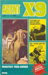 Cover Thumbnail for Agent X9 (Semic, 1971 series) #13/1975