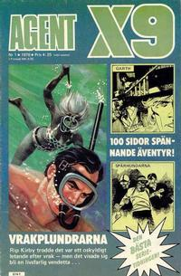 Cover Thumbnail for Agent X9 (Semic, 1971 series) #1/1976