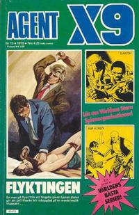 Cover Thumbnail for Agent X9 (Semic, 1971 series) #13/1976
