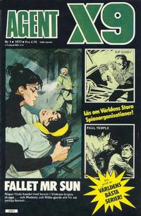 Cover Thumbnail for Agent X9 (Semic, 1971 series) #1/1977