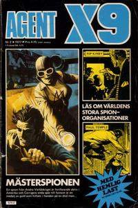 Cover Thumbnail for Agent X9 (Semic, 1971 series) #2/1977
