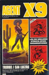 Cover Thumbnail for Agent X9 (Semic, 1971 series) #4/1977
