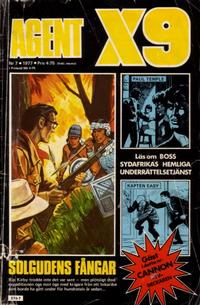 Cover Thumbnail for Agent X9 (Semic, 1971 series) #7/1977