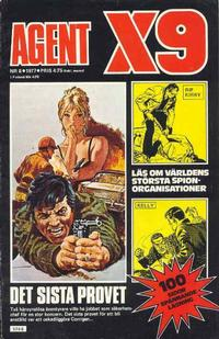 Cover Thumbnail for Agent X9 (Semic, 1971 series) #8/1977