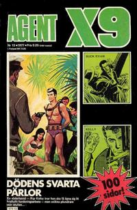 Cover Thumbnail for Agent X9 (Semic, 1971 series) #13/1977