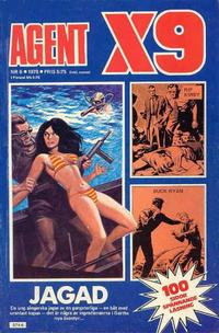 Cover Thumbnail for Agent X9 (Semic, 1971 series) #6/1978