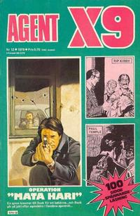 Cover Thumbnail for Agent X9 (Semic, 1971 series) #12/1978