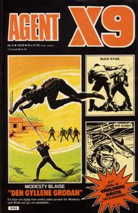 Cover Thumbnail for Agent X9 (Semic, 1971 series) #5/1979