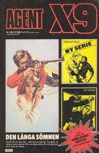 Cover Thumbnail for Agent X9 (Semic, 1971 series) #6/1979