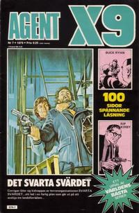 Cover Thumbnail for Agent X9 (Semic, 1971 series) #7/1979