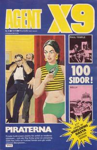 Cover Thumbnail for Agent X9 (Semic, 1971 series) #8/1979
