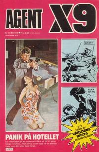 Cover Thumbnail for Agent X9 (Semic, 1971 series) #10/1979