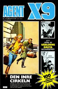 Cover Thumbnail for Agent X9 (Semic, 1971 series) #1/1980