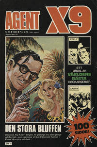 Cover Thumbnail for Agent X9 (Semic, 1971 series) #10/1980