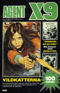Cover Thumbnail for Agent X9 (Semic, 1971 series) #2/1981