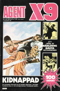 Cover Thumbnail for Agent X9 (Semic, 1971 series) #6/1981