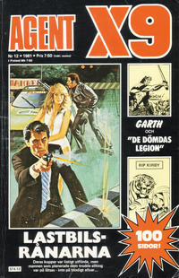 Cover Thumbnail for Agent X9 (Semic, 1971 series) #12/1981