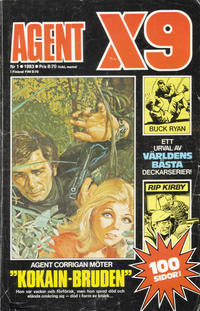 Cover Thumbnail for Agent X9 (Semic, 1971 series) #1/1983