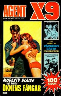 Cover Thumbnail for Agent X9 (Semic, 1971 series) #1/1984