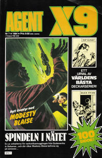 Cover Thumbnail for Agent X9 (Semic, 1971 series) #7/1984