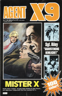 Cover Thumbnail for Agent X9 (Semic, 1971 series) #11/1984