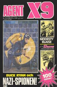 Cover Thumbnail for Agent X9 (Semic, 1971 series) #13/1985