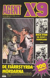 Cover Thumbnail for Agent X9 (Semic, 1971 series) #8/1986