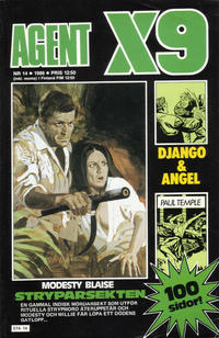 Cover Thumbnail for Agent X9 (Semic, 1971 series) #14/1986