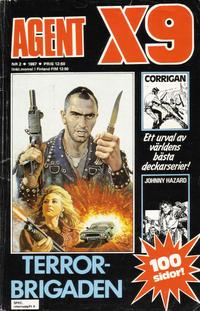 Cover Thumbnail for Agent X9 (Semic, 1971 series) #2/1987